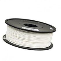 فیلامنت 1 کیلو گرمی پرینتر 3 بعدی دارای جنس PLA و قطر 1.75mm سفید