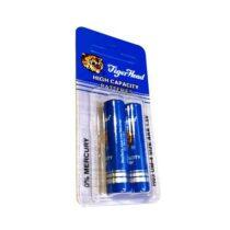 باتری نیم قلمی تایگر مدل HIGH CAPACITY بسته دو عددی