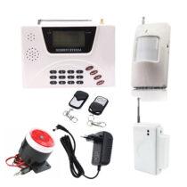 پک دزدگیر هوشمند همراه با تلفن کننده و کیت سیم کارت مدل Smart Security