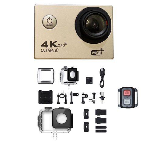 دوربین فیلم برداری ورزشی مدل 4SU به همراه لوازم جانبی