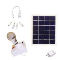 چراغ خورشیدی و پاوربانک کمپ یینگلی سولار مدل SLS418